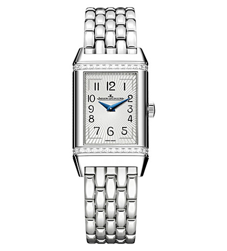 JAEGER LE COULTRE Q3288120 Reverso stainless steel watch