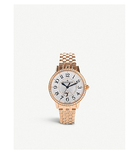 JAEGER LE COULTRE Q3442120 Rendez-vous Night & Day rose-gold automatic watch