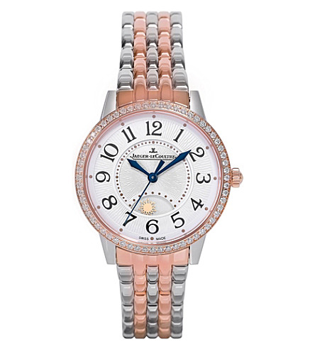 JAEGER LE COULTRE Q3444120 Rendez-Vous rose gold watch