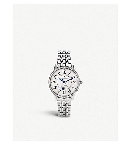 JAEGER LE COULTRE Rendez-Vous Night & Day stainless steel watch
