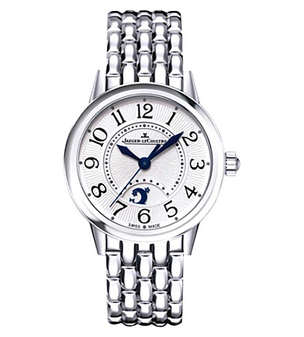 JAEGER LE COULTRE Q3448190 Rendez-Vous stainless steel watch