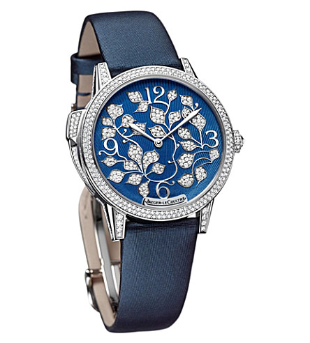 JAEGER LE COULTRE Q35034E1 Rendez-Vous Ivy minute repeater white gold and satin watch