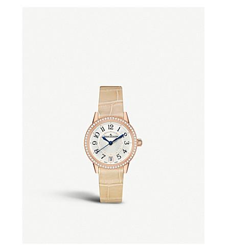 JAEGER LE COULTRE Automatic silver dial gold bracelet