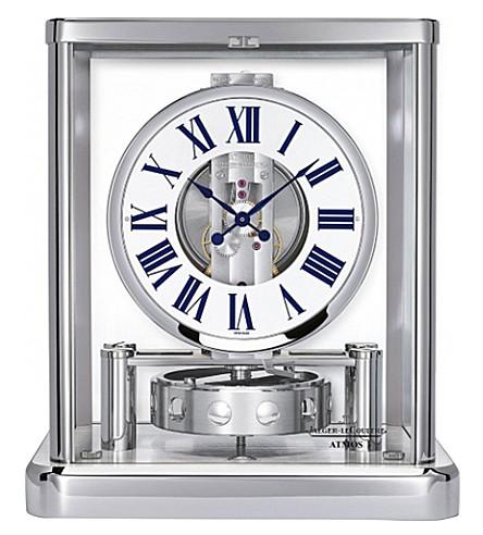 JAEGER-LECOULTRE Atmos Classique Elysium Rhodium-plated clock