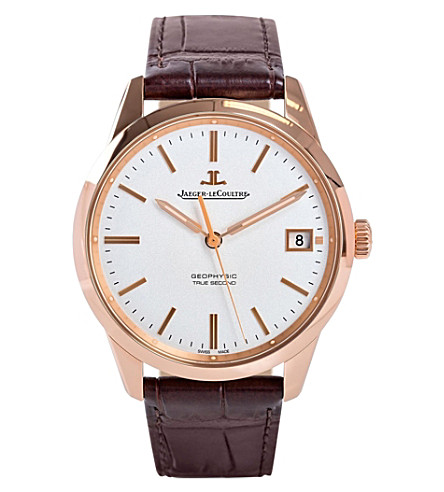 JAEGER LE COULTRE Q8012520 Geophysic rose gold watch