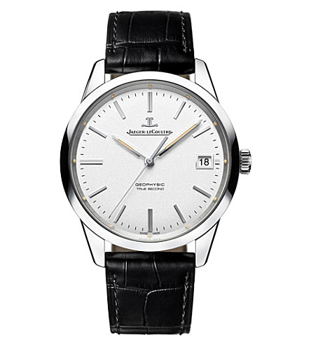 JAEGER LE COULTRE Q8018420 Geophysic stainless steel watch