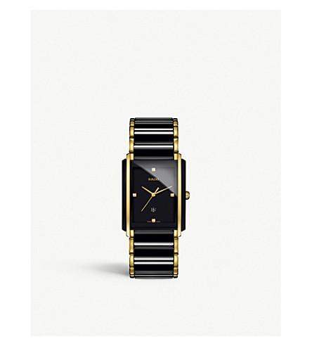 RADO R20204712 Integral high-tech ceramic and diamond watch