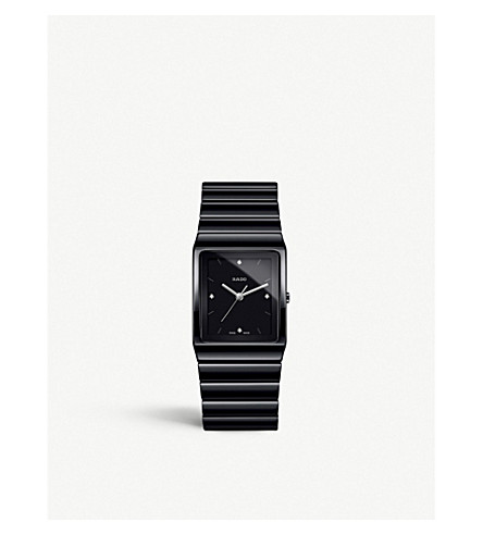 RADO R21700702 Ceramica black high-tech ceramic watch