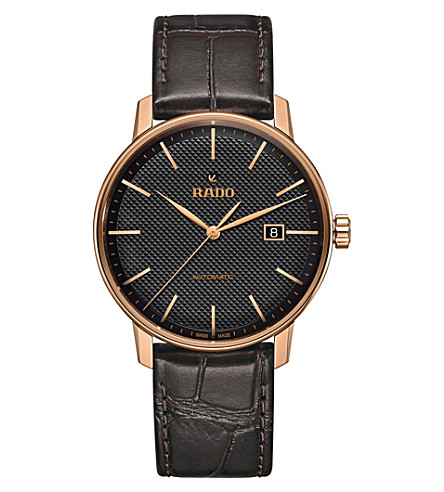 RADO R22877165 Coupole Classic gold-plated stainless steel watch