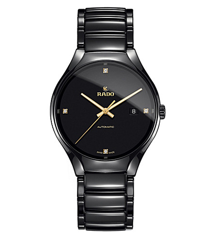 RADO R27056712 True ceramic and diamond watch