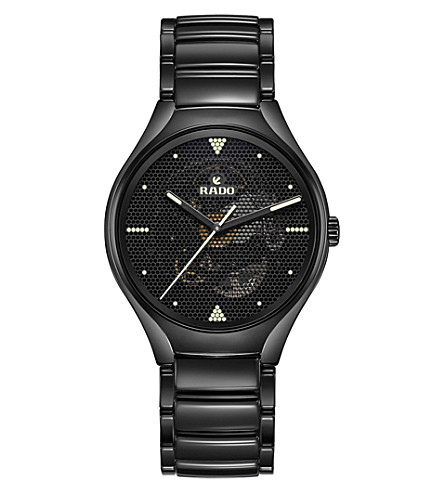 RADO R27101192 True Phospho ceramic watch