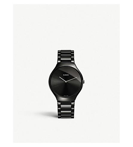 RADO R27741182 True Thinline ceramic watch