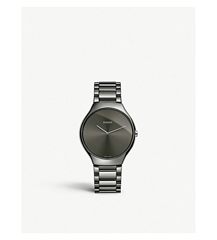 RADO R27955122 True Thinline ceramic watch