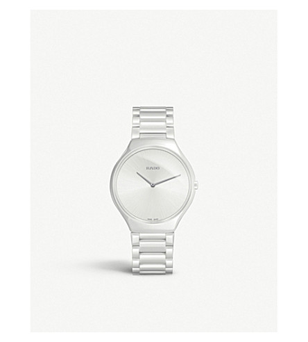 RADO R27957012 True Thinline ceramic watch