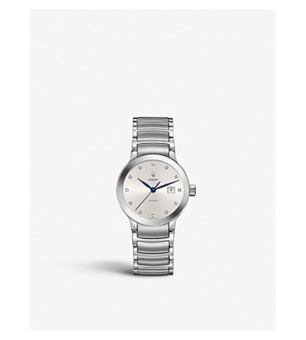RADO R30027733 Centrix stainless steel and diamond watch