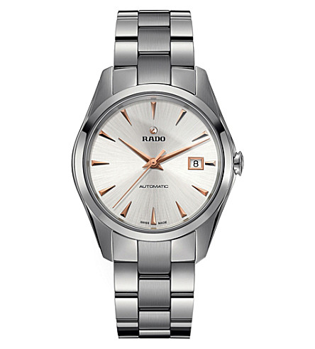 RADO R32115113 HyperChrome stainless steel and ceramic watch