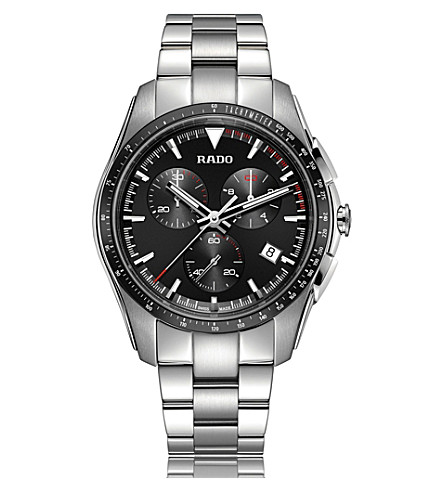 RADO R32259153 HyperChrome stainless steel chronograph watch