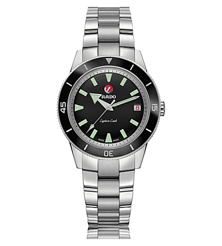 RADO R32500153 Captain Cook ceramic and stainless steel watch
