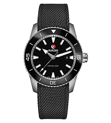 RADO R32501156 Captain Cook ceramic and carbon infused steel watch
