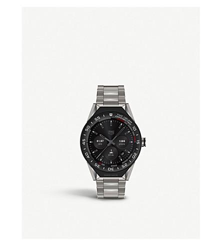 TAG HEUER SBF8A800110BF0608 Connected Modular 45 titanium quartz watch