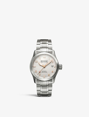 BREMONT 37rg Solo stainless steel watch