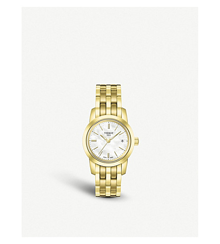 TISSOT T0332103311100 Classic Dream gold watch