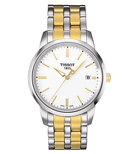 TISSOT T0334102201101 Classic Dream gold watch