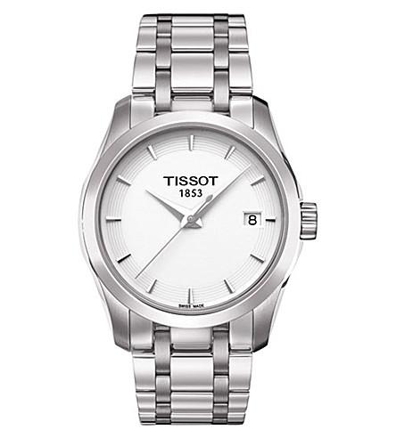 TISSOTT0352101101100 库图系列不锈钢腕表