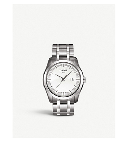 TISSOT T0354101103100 Couturier stainless steel watch