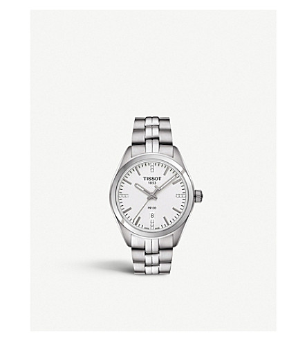 TISSOT T101.210.11.036.00 PR 100 diamond watch
