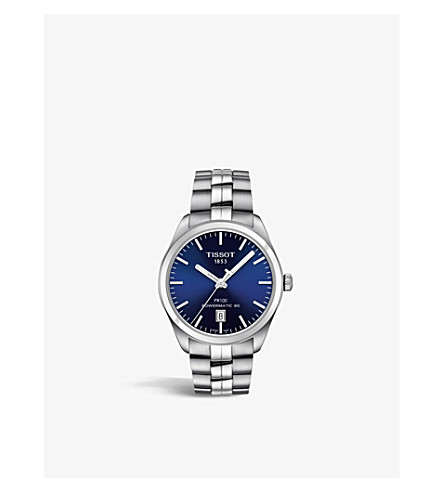TISSOT T101.407.11.041.00 PR 100 stainless steel watch