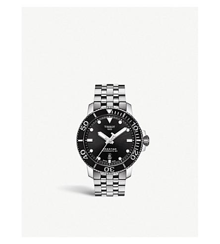 TISSOT T120.407.11.051.00 海星 1000 不锈钢腕表