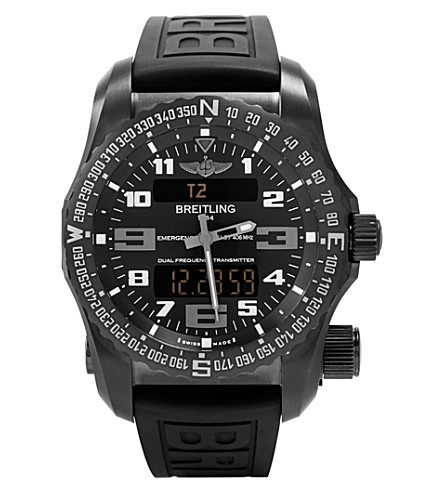 BREITLING Emergency titanium watch