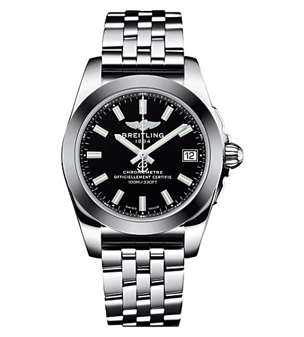 BREITLING W7433012/BE08/376A Galactic 36 stainless steel watch