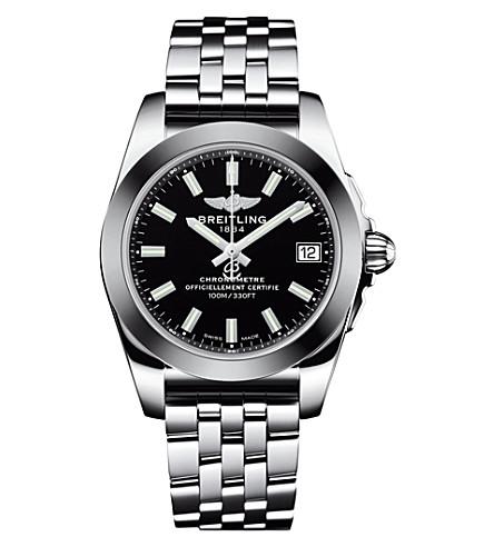 BREITLING W7433012/BE08/376A 银河 36 不锈钢腕表