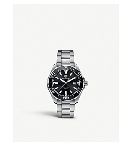 TAG HEUER WAY101A.BA0746 Aquaracer stainless steel watch