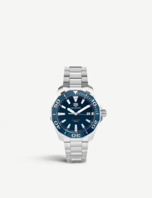 WAY111C.BA0928 Aquaracer stainless steel watch(7468271)