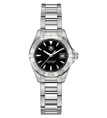 TAG HEUER Way1310.ba0915 Aquaracer stainless steel watch (Black