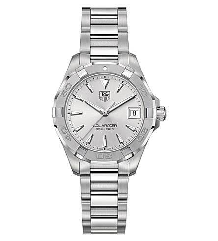 TAG HEUER Aquaracer way1311.ba0915 stainless steel watch (Black