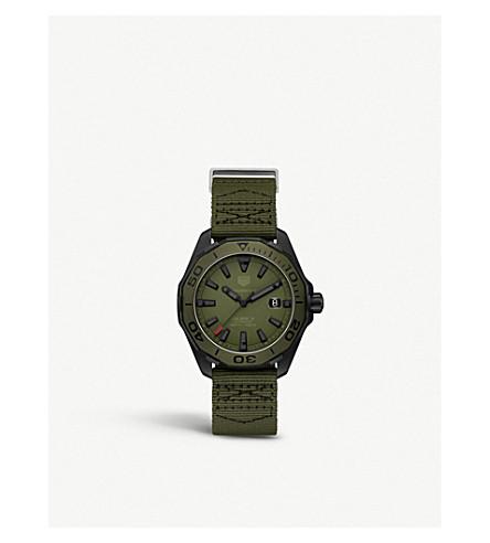 TAG HEUER WAY208E.FC8222 Aquaracer titanium watch