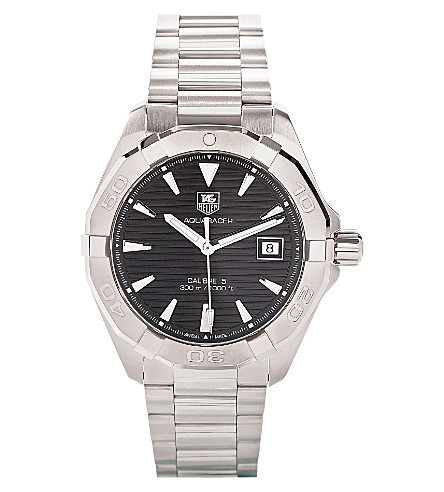TAG HEUER Way2110.ba0910 Aquaracer Calibre stainless steel watch