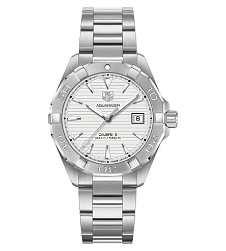TAG HEUER Way2111.ba0910 Aquaracer Calibre stainless steel watch