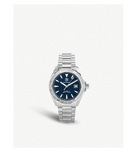 TAG HEUER Way2112.ba0910 Aquaracer Calibre stainless steel watch