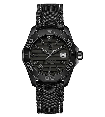 TAG HEUER WAY218B.FC6364 Aquaracer titanium watch