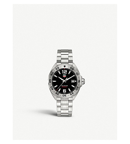 TAG HEUER Waz1112.ba0875 Formula 1 stainless steel watch (Black