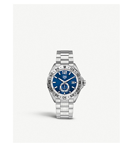 TAG HEUER WAZ2014.BA0842 Formula 1 steel and sapphire-crystal watch