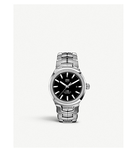 TAG HEUER WBC2110.BA0603 Link Calibre 5 stainless steel watch