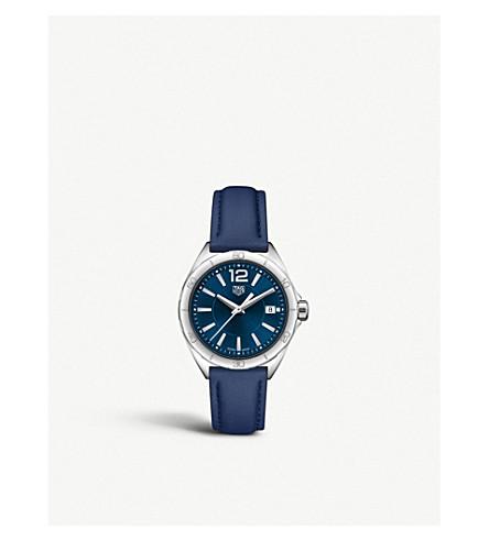 TAG HEUER WBJ131.2FC8231 配方1不锈钢和皮革表带手表