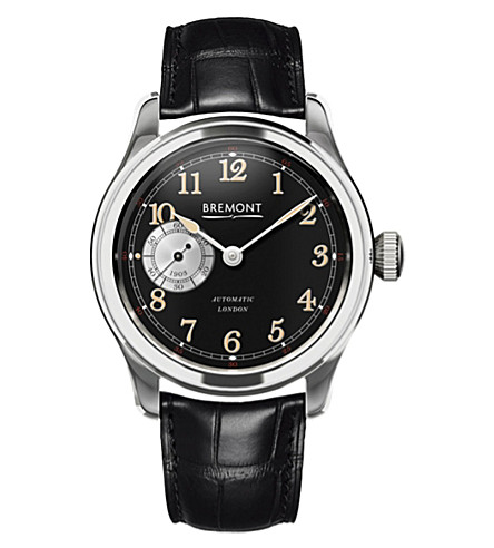 BREMONT Wright Flyer Limited Edition stainless steel watch