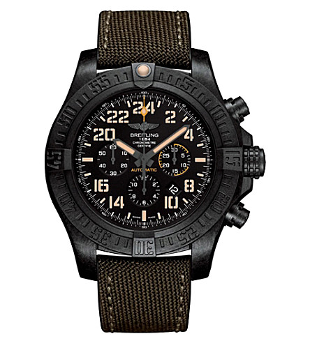 BREITLING XB12101A/BF46/283S/X20D.4 Avenger Hurricane Military watch